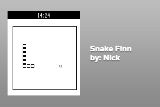 Snake on Pebble